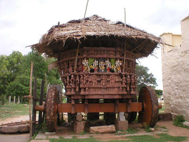 रङ्गनाथ मन्दिर के पास रथ